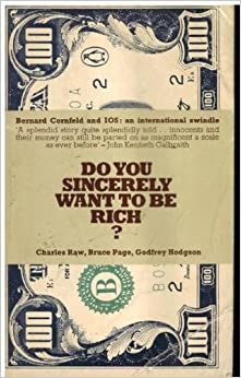 Do You Sincerely Want to be Rich?