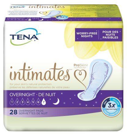 (TENA Intimates Overnight Pads 28 Count (Pack of 3))