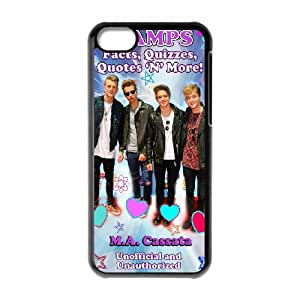 The Vamps For iPhone 5C Csae protection Case DHQ645141