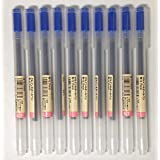 MUJI Gel Ink Ballpoint Pens 0.7mm Blue color 10pcs