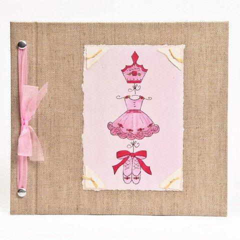 Hugs and Kisses XO Baby Memory Book: BALLET Girl Baby Alb...