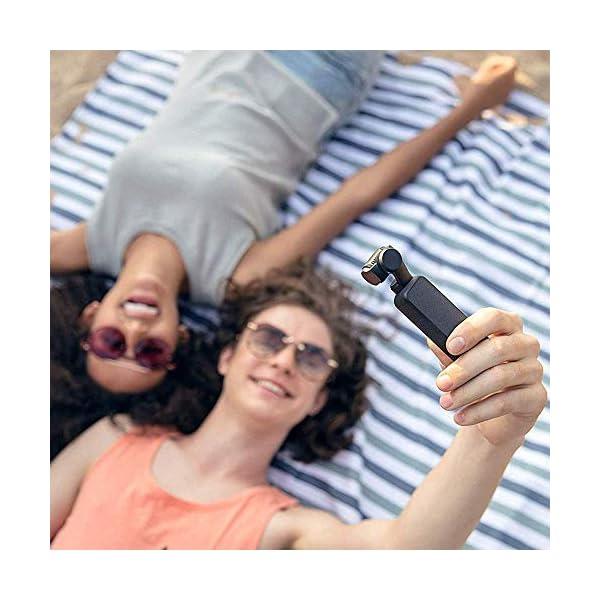 """DJI Osmo Pocket Prime Combo - Fotocamera Stabilizzata a Tre Assi con Kit Accessori e Care Refresh, Camera Integrata 12 MP 1/2.3"""" CMOS, Video in 4K, Collegabile a Smartphone, Android, iPhone - Black 5 spesavip"""