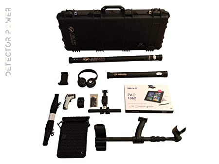 Amazon.com : TERO VIDO Basic Plus 3D System Metal Detector - Professional Deep Seeking Detector | Underground Depth Scanner | Gold, Silver, Coins, Jewelry, ...