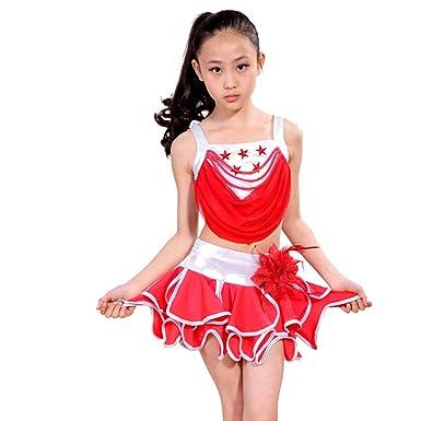 KINDOYO Disfraces de Danza para Niños - Niñas Vestidos de ...