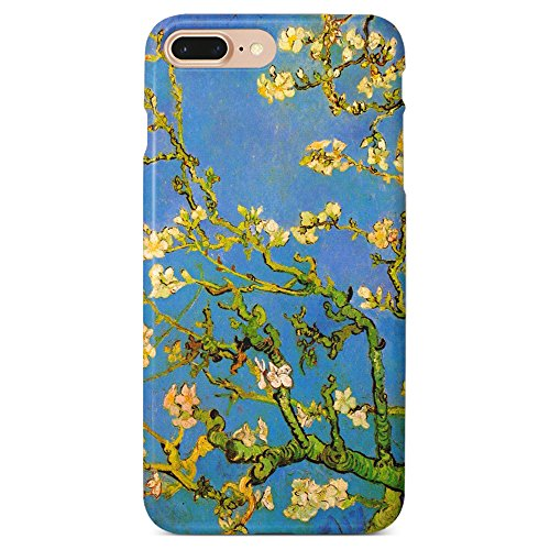 - Monarque iPhone Case with Smooth Premium Durable Scratch-Resistant TPU Material with Almond Branches Design Fit for iPhone 6 Plus iPhone 7 Plus iPhone 8 Plus