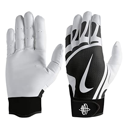 6c589dba34f0 Image Unavailable. Image not available for. Color  Nike Men s Huarache Edge Batting  Gloves ...