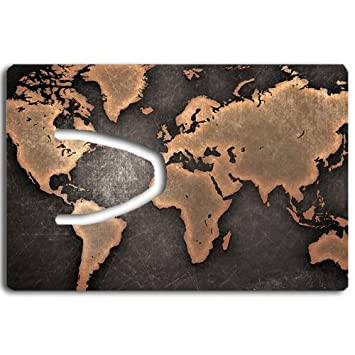 Amazon world map bookmark great gift idea office products world map bookmark great gift idea gumiabroncs Image collections
