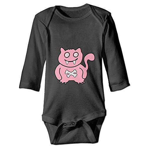 WENXIANSGTISF Cat Dressed As Monsters Baby Clothes Long Sleeve Novelty Fun 6-24 Months Baby 12 Months Black