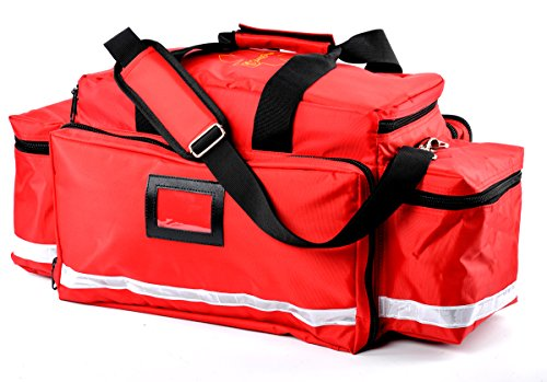 - Aurelius Large Capacity First Aid Responder Bag Empty EMT Trauma Bag,Emergency Supplies Not Included