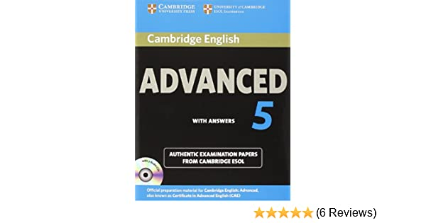 Cambridge english advanced 5 self study pack students book with cambridge english advanced 5 self study pack students book with answers and audio cds 2 authentic examination papers from cambridge esol cae practice fandeluxe Choice Image