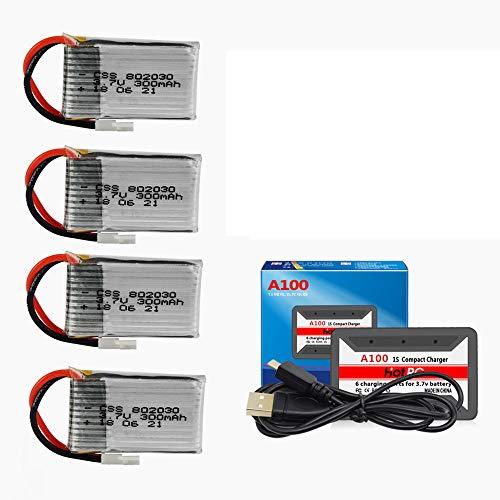 Batería  3.7V 300mAh para UDI U816 U830 F180 E55 FQ777 FQ17W
