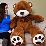 Giant teddy dark-brown 60 inches