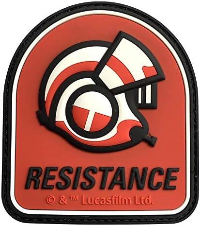Musterbrand Star Wars Patch Unisex Resistance Pilot Helmet Mehrfarbig One Bekleidung