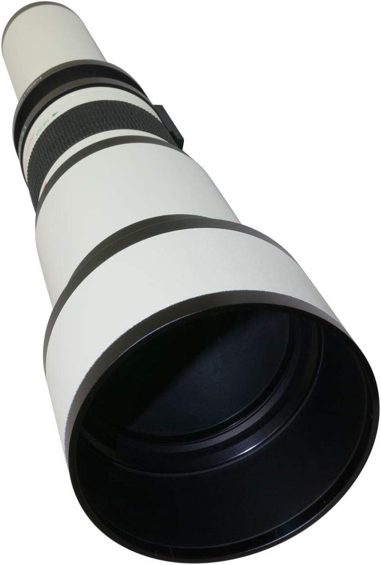 a7s a6000 NEX-6 a5000 NEX-5T a3000 3N and Other E-Mount Digital Mirrorless Cameras NEX-7 NEX-5R a7 a5100 Super 650-1300mm f//8-16 HD Telephoto Zoom Lens for Sony a7r NEX-5N