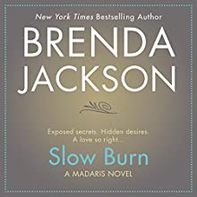 Slow Burn Audiobook by Brenda Jackson Narrated by Pete Ohms
