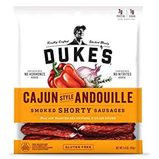 Duke's Cajun Andouille Pork Sausages, 5 Ounce