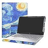 Alapmk Protective Case Cover For 15.6'' HP Pavilion 15 15-auXXX (15-au000 to 15-au999,Such as 15-au123cl) Laptop(Warning:Not fit Pavilion 15 15-abXXX/15-ccXXX/15-csXXX/15-bcXXX Series),Starry Night