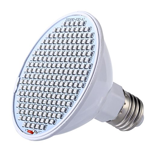 Anysell88 E27 SMD 24W LED Grow Light Vegetable Lamp Plant Light