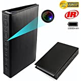 CAMXSW Spy Camera Book Hidden Camera HD 1080P Home Security Convert Camera/Nanny Cam/Pet Monitor/Video Recorder/Snapshot with 10000mAh Large-Capacity Battery,Night Vision and Motion Detection