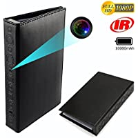 CAMXSW Spy Camera Book Hidden Camera HD 1080P Home Security Convert Camera/Nanny Cam/Pet Monitor / Video Recorder/Snapshot with 10000mAh Large-Capacity Battery,Night Vision and Motion Detection