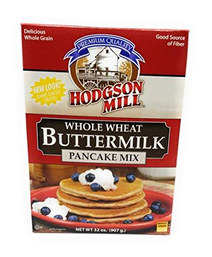 Hodgson Mill Pancake Flour, Whole Wheat Buttermilk, 32 Ounce ()