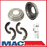 Mac Auto Parts 37387 Cavalier Sunfire (2) Rear Brake Drums & Shoes & Brake Springs