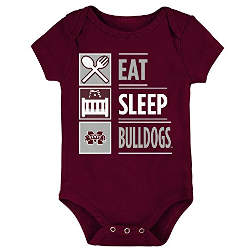 NCAA by Outerstuff NCAA Mississippi State Bulldogs Newborn & Infant