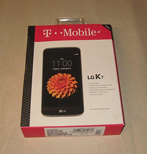 LG K7 8GB K330 T-Mobile 4G LTE Android Smartphone Black