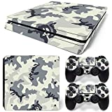 MODFREAKZ™ Console and Controller Vinyl Skin Set - Snow Gray Camo for PS4 Slim