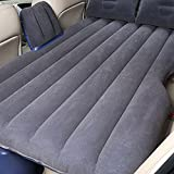 MeiBoAll Car Inflatable Bed SUV Traveling Camping Car Back Seat Air Bed Universal Air Mattress Black
