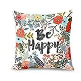 TiTCool 2018 Cushion Cover Hello Spring Home Decor Throw Pillowcase Pillow Covers 18x18 (J)