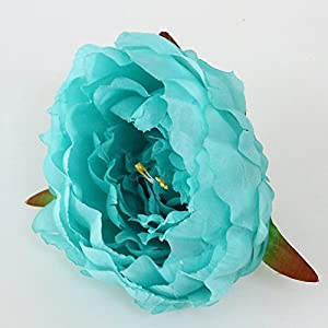 FYYDNZA Artificial Decorative Peony Flower Heads Simulation Diy Silk Flower For Wedding Home Party Hotel Decor,J 26