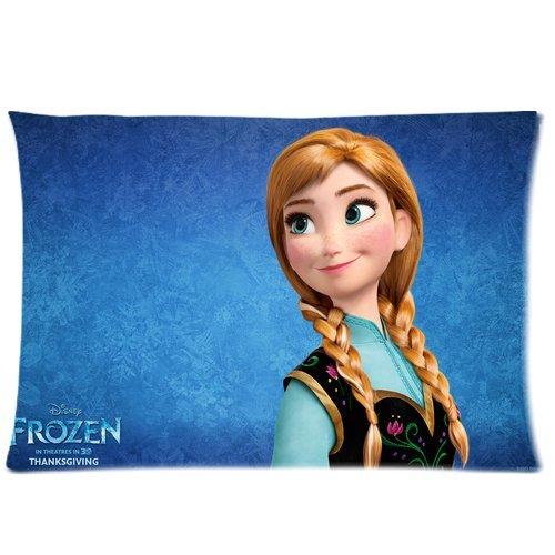 "Frozen Disney 3D Cartoon Movie Custom Zippered Pillow Cases 20""x30"" (Twin sides)- Custom Paradise"