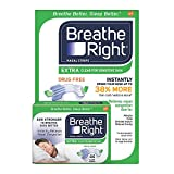 Breathe Right Extra Strength Nasal Strips, Clear (44 ct.) (pack of 6)