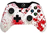 ''Blood Splatter'' Xbox One Rapid Fire Modded Controller Pro Finish 40 Mods for COD Advanced Warfare, Ghosts Quickscope, Jitter, Drop Shot, Auto Aim Zombie, Jump Shot, Auto Sprint, Fast Reload, Much More