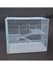 3 Tier Pet Cage for Cat Ferret Guinea Pig Hamster Rat Sugar Glider Chinchilla (Regular)