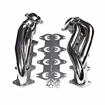 Exhaust Manifold Header Shorty Stainless Steel For Ford F150 04-10 5.4L V8