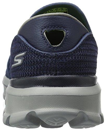 Laufschuhe Herren Navy Skechers Gowalk3 Gray 7awvwnEHx