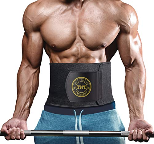 1e286a3bb2 TNT Pro Series Waist Trimmer Weight Loss Ab Belt - Premium Stomach Fat  Burner Wrap and
