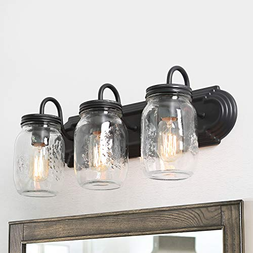 3 Mason Jar Pendant Light in US - 5