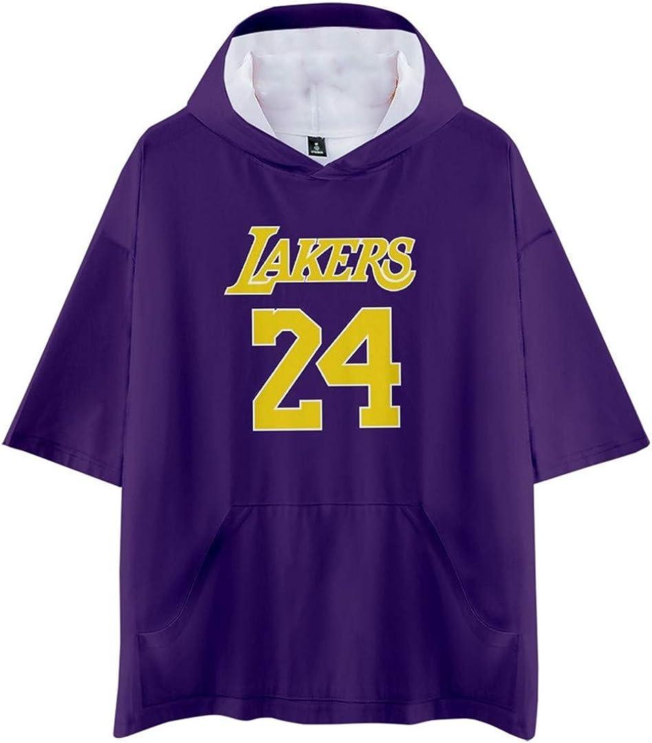 Silver Basic Basketball T Shirt all Star Kobe Bryant Forever 24 Jersey Canotta Maglia
