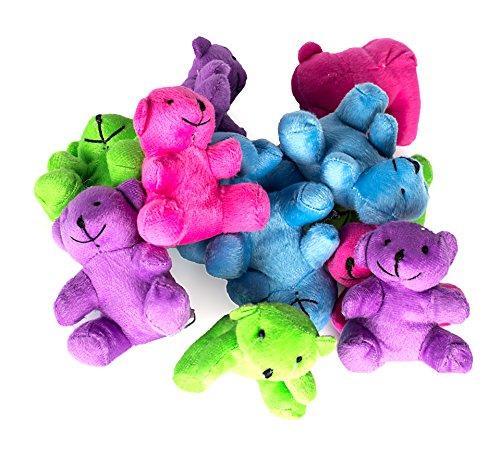 Review Neon Plush Bears Stuffed