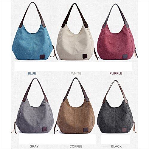 Jade Canvas Casual Handbag Bag Bag Layer Bag Fashion Multi Handbags Shoulder Simple 47B4wqrgn