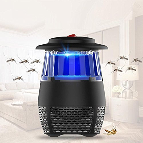 USB Stheanoo Mosquito Zappers Electric Fly Bug Insect Killer LED Light Pest Trap Lamp Non-toxic, Non-polluted, Radiation-free Mosquito Killer for Home Kitchen Bedroom (black) by Stheanoo Zapper (Image #2)