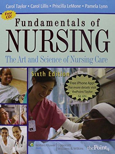 Fundamentals of Nursing: The Art and Science of Nursing Care  (set)