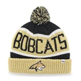 '47 Montana State Bobcats Calgary Beanie Hat with Pom - NCAA Cuffed Winter Knit Toque Cap