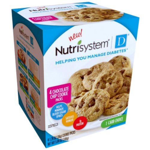 Nutrisystem D Chocolate Chip Cookie 2 Box
