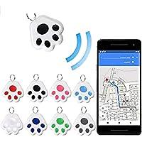 $43 » Mini Animal Tracking Locator Prevention Anti-Lost Waterproof Portable Bluetooth Tracker…