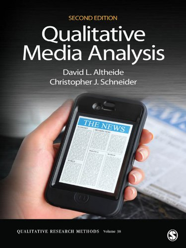 Download Qualitative Media Analysis (Qualitative Research Methods) Pdf
