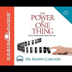 The Power of One Thing Audiobook